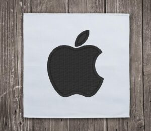 Apple iPhone Logo - Embroidery design download