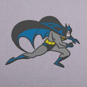Batman 3 Embroidery Design For Instant Download