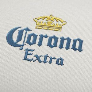 Corona Extra Logo design for Instant Download