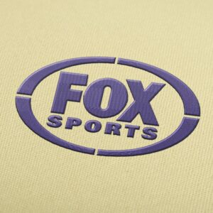 Fox Sports Logo design for Instant Download