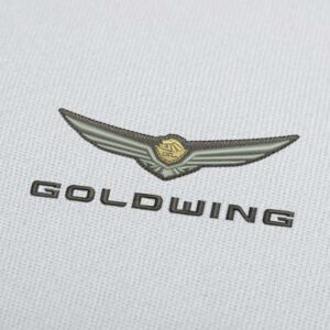 Honda Goldwing Logo 2 Embroidery Design for Download