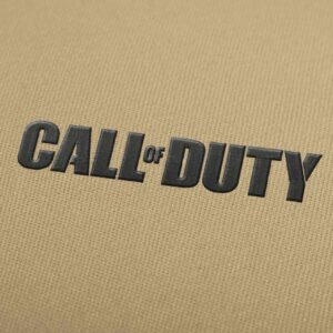 Call Of Duty Logo Embroidery Design for Download