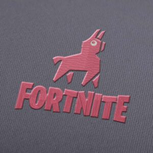 Fortnite Logo With Llama Embroidery design for Instant Download