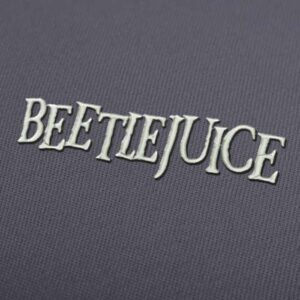 Beetlejuice Movie Logo Embroidery design for Instant Download