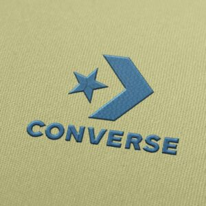 Converse New Logo Embroidery Design for Download
