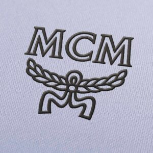 MCM Logo Embroidery Design for Download