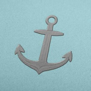 Anchor Embroidery design for Instant Download