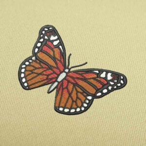 Butterfly Embroidery design for Instant Download