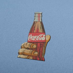 Coca Cola Bottle Embroidery Design for Download