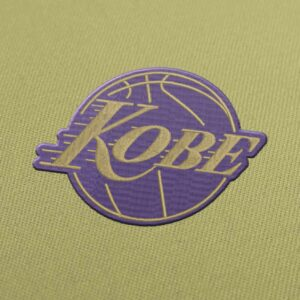 Kobe Bryant Embroidery Design for Download