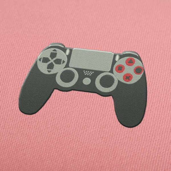 PS4 Controller Embroidery design for Instant Download