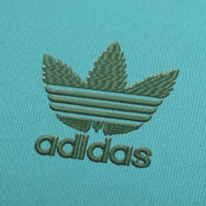New Adidas Logo Embroidery design for Instant Download