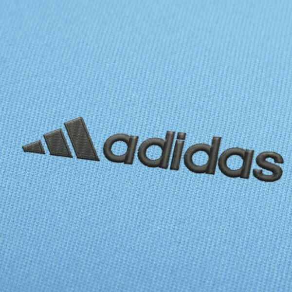 Adidas Logo 2 Embroidery design for Instant Download
