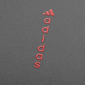 Adidas Vertical Logo Embroidery design for Instant Download