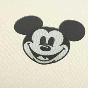 Mickey Mouse Logo Embroidery design for Instant Download