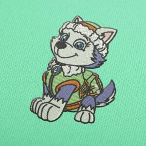 Paw Patrol Everast Embroidery design for Instant Download