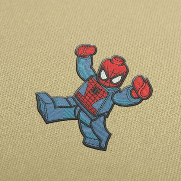Spiderman Lego Embroidery design for Instant Download