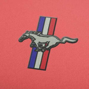 Ford Mustang Logo Embroidery design for Instant Download