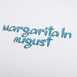 Margarita ln August Font - Machine Embroidery Design Fonts Download