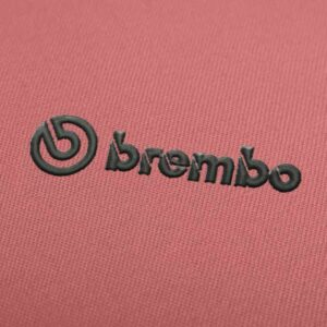Brembo Logo Embroidery design for Instant Download