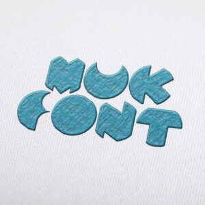 MUK Font - Machine Embroidery Design Fonts Download