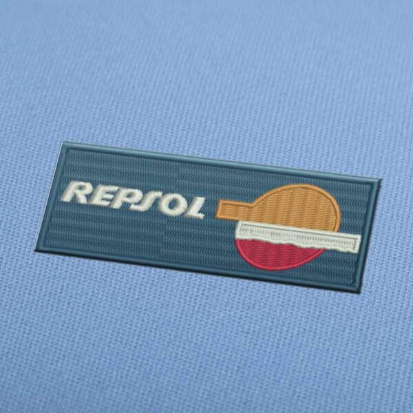 Repsol Logo 3 Embroidery design for Instant Download