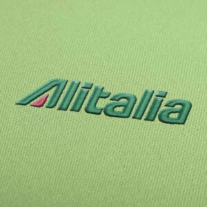 Aitalia Airlines Logo Embroidery design for Instant Download