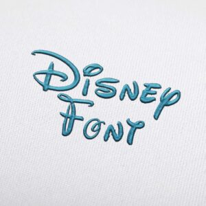 Disney - Machine Embroidery Design Fonts Download