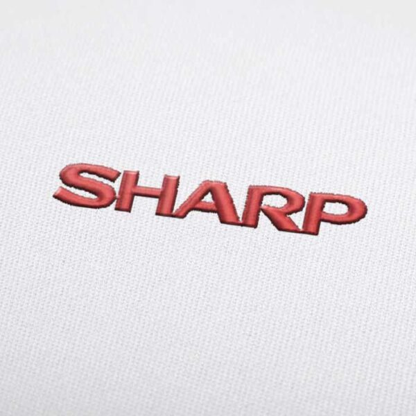 Sharp Logo Embroidery design for Instant Download