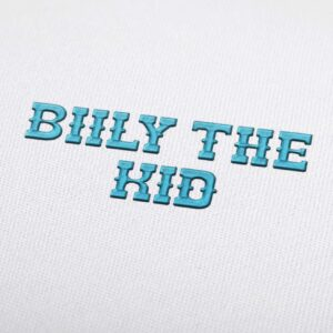 Biily The Kid Font - Machine Embroidery Design Fonts Download