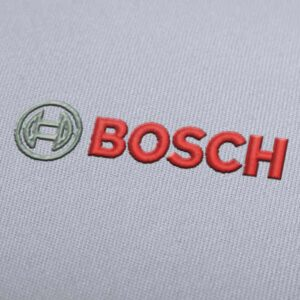 Bosch Logo Embroidery design for Instant Download