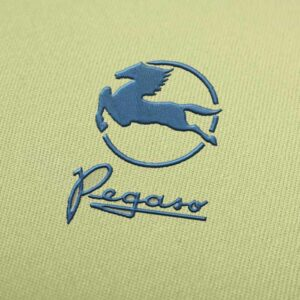 Pegasus Truck Logo Embroidery design for Instant Download