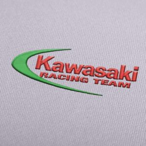 Kawasaki Racing Team Logo Embroidery design for Instant Download