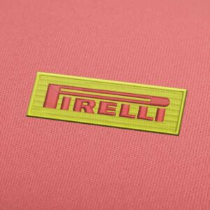 Pirelli Logo Embroidery design for Instant Download