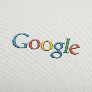 Google Logo 2 Embroidery design for Instant Download