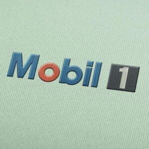 Mobil 1 Logo design for Instant Download