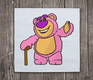 Bad Bear Lotso - Embroidery design download