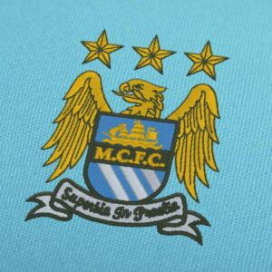 Manchester City Old Logo Embroidery Design For Instant Download