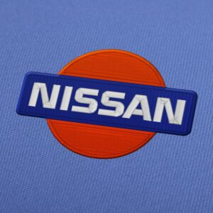 Nissan Logo Embroidery Design For Instant Download