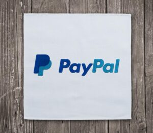 PayPal Logo Embroidery Design For Instant Download