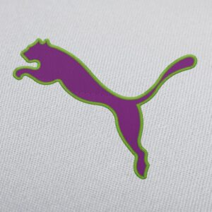 Puma Logo With Border Embroidery Design For Instant Download